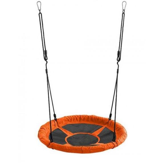 Zahradní houpačka SPARTAN Fun Ring 95 cm - oranžová