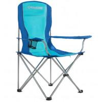 Kempingová skládací židle King Camp modrá