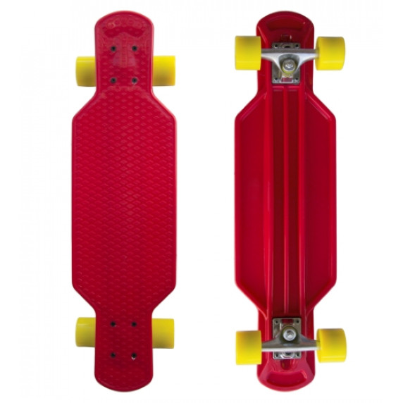 Plastik Penny Board MASTER 29 'červený