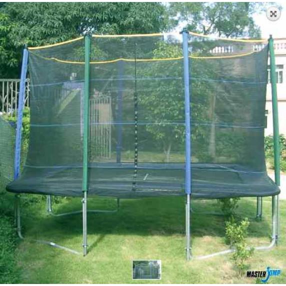 MASTERJUMP ochranná síť na trampolínu 300 x 210 cm