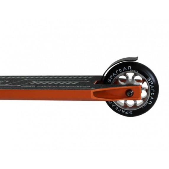 Freestylová kolobežka SPARTAN Stunt Medium Level - černá/oranžová