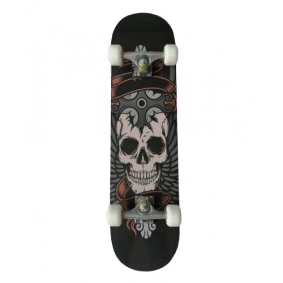Skateboard MASTER Extreme Board Skull