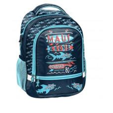 PASO školní batoh Shark 43 x 30 x 20 cm - modrý