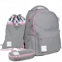 Školní set PASO Barbie - školní taška + penál + sáček na tělocvik