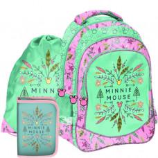 Školní set PASO Minnie Mouse školní taška + penál + sáček na tělocvik Preview