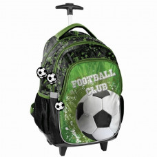 Školní batoh na kolečkách PASO Fotbal 45 x 31 x 24 cm