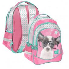 PASO Studio Pets školní batoh 41x30x20 cm - čivava