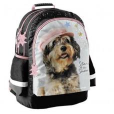 Školní batoh PASO Studio Pets 42 x 29 x 17 cm - pejsek