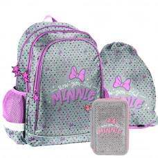 PASO školní set MINNIE Bow-you-tiful -  školní taška + penál + vak na tělocvik