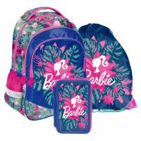 PASO školní set BARBIE TROPICAL - školní taška + penál + vak na tělocvik