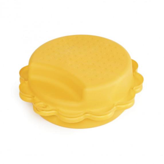 Dvoustranné pískoviště - Žluté Inlea4Fun