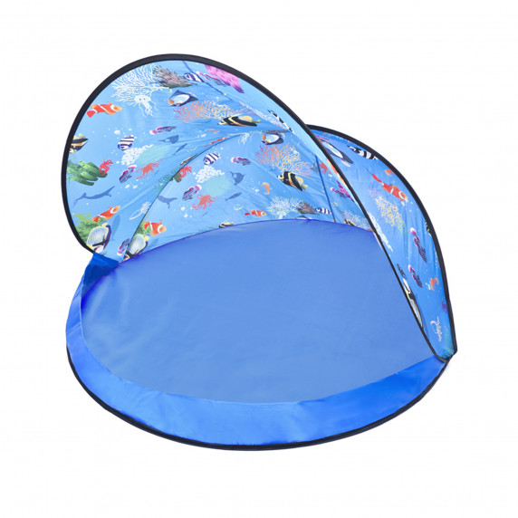 Tent Blue Stan s míčky - modrý  Inlea4Fun