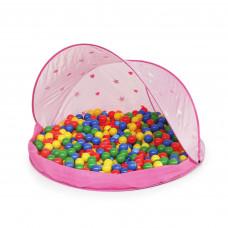 Tent Pink Stan s míčky - růžový  Inlea4Fun Preview