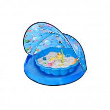 Tent Blue Stan na pláž a pískoviště - Modré Inlea4Fun Preview