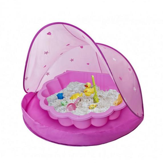 Tent Blue Stan na pláž a pískoviště - Růžové Inlea4Fun