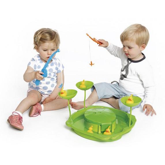 Dusk Fishing Games Dětský rybářský set - Zelený Inlea4Fun