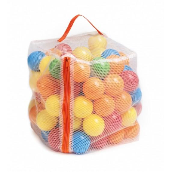 Barevné míčky do bazénu a hracího stanu 6 cm 100 ks Inlea4Fun