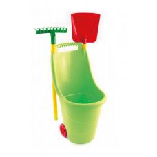 Zahradní vozík s nářadím na kolečkách pro děti Inlea4Fun Preview
