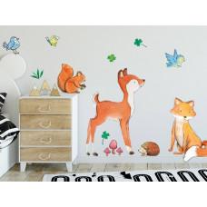 Dekorace na zeď ANIMALS Forest Friends - Lesní zvířátka Preview