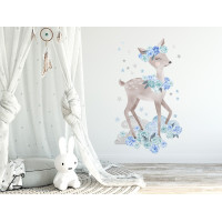 Dekorace na zeď SECRET GARDEN Roe - Srnka modrá