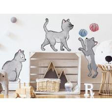 Dekorace na zeď ANIMALS Cats - Kočičky Preview