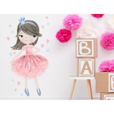 Dekorace na zeď CHARACTERS Princess - Princezna růžová Preview
