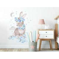 Dekorace na zeď SECRET GARDEN Rabbit - Zajíček modrý