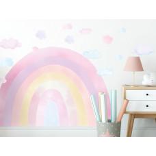 Dekorace na zeď RAINBOW - Duha - růžová Preview