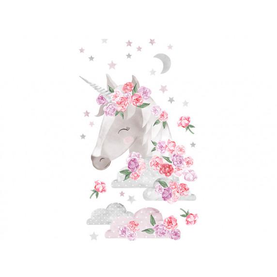 Dekorace na zeď SECRET GARDEN Unicorn - Jednorožec růžový