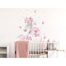 Dekorace na zeď SECRET GARDEN Unicorn - Jednorožec růžový Preview