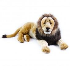 Velký plyšový ležící lev 92 cm Preview
