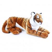 Velký ležící plyšový tygr 92 cm