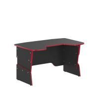 SKYLAND Skill psací stůl 7055550 - Antracitový s červeným lemem