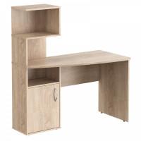 Taipa Comp Psací stůl s policemi 120 x 60 x 135 cm - Sonoma Oak light