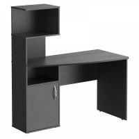 Taipa Comp Psací stůl s policemi 120 x 60 x 135 cm - Dark Legno