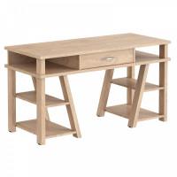 Taipa Comp Psací stůl se zásuvkou a policemi 140 x 60 x 78,4 cm - Devon Oak