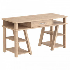 Taipa Comp Psací stůl se zásuvkou a policemi 140 x 60 x 78,4 cm - Devon Oak Preview