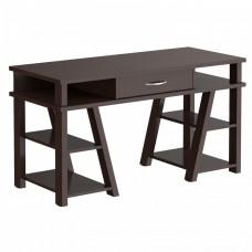 Taipa Comp Psací stůl se zásuvkou a policemi 140 x 60 x 78,4 cm - Wengge Magic Preview