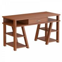 Taipa Comp Psací stůl se zásuvkou a policemi 140 x 60 x 78,4 cm - Noce Dallas