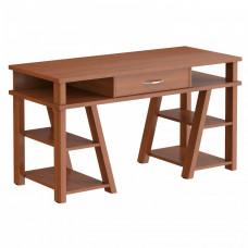 Taipa Comp Psací stůl se zásuvkou a policemi 140 x 60 x 78,4 cm - Noce Dallas Preview