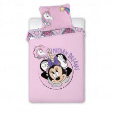 Dětské povlečení Minnie Mouse - jednorožec 140 x 200 cm Preview