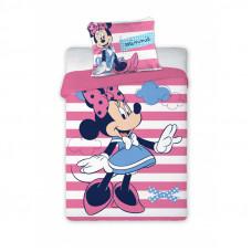Dětské povlečení Minnie Mouse - pruhovaný 135 x 100 cm Preview