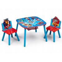 Dětský stůl se židlemi Tlapková Patrola - záchranáři
