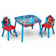 Dětský stůl se židlemi Tlapková Patrola - záchranáři Preview