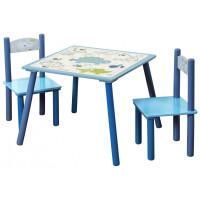 Dětský stůl se židlemi Dino