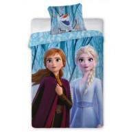 Dětské povlečení Ledové království Frozen - Anna a Elza 140 x 200 cm
