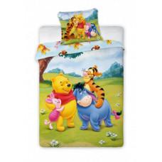 Dětské povlečení Medvídek Pú a kamarádi 135 x 100 cm Preview
