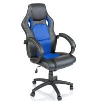 Kancelářské křeslo Tresko Racing RS-014 - černo-modré