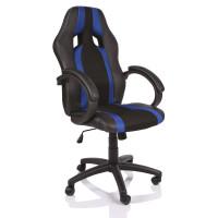 Tresko Racing Kancelářské křeslo RS020 Black - Blue