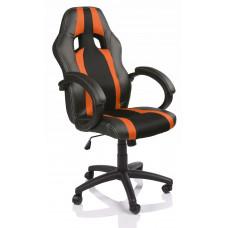 Kancelářské křeslo Tresko Racing RS019 černo- oranžové vzor Preview